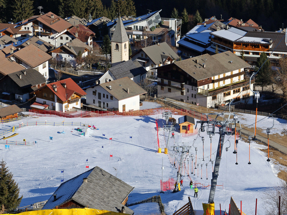 lift ski fahren dorflift tellerlift südtirol schnee