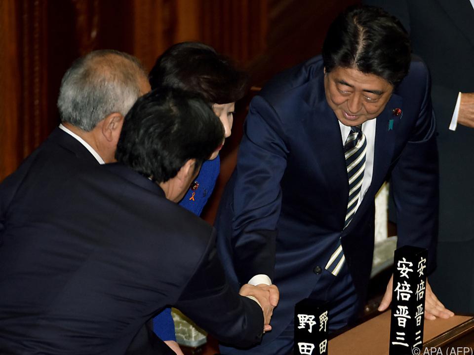 Abe auf dem Weg zum längstdienenden Ministerpräsidenten