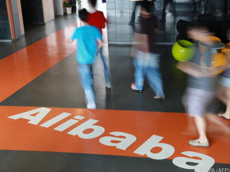 Alibaba ergänzte Online-Geschäft mit echten Shops
