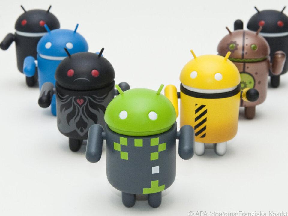 Androiden haben einen Marktanteil von über 80 Prozent bei Smartphones