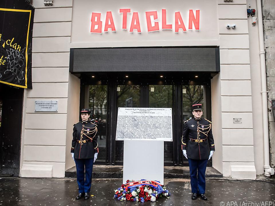 Anschlag auf Bataclan jährt sich zum zweiten Male