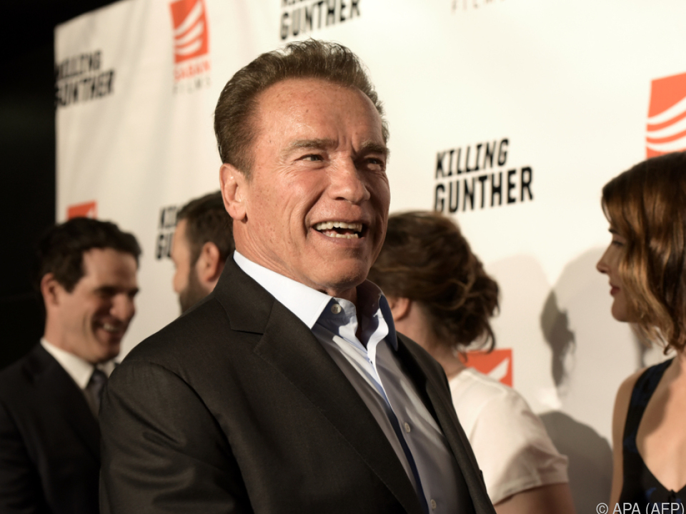 Arnold Schwarzenegger wird für sein Lebenswerk geehrt