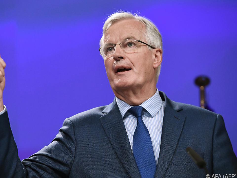Barnier wünscht sich Fortschritte bei Kernthemen