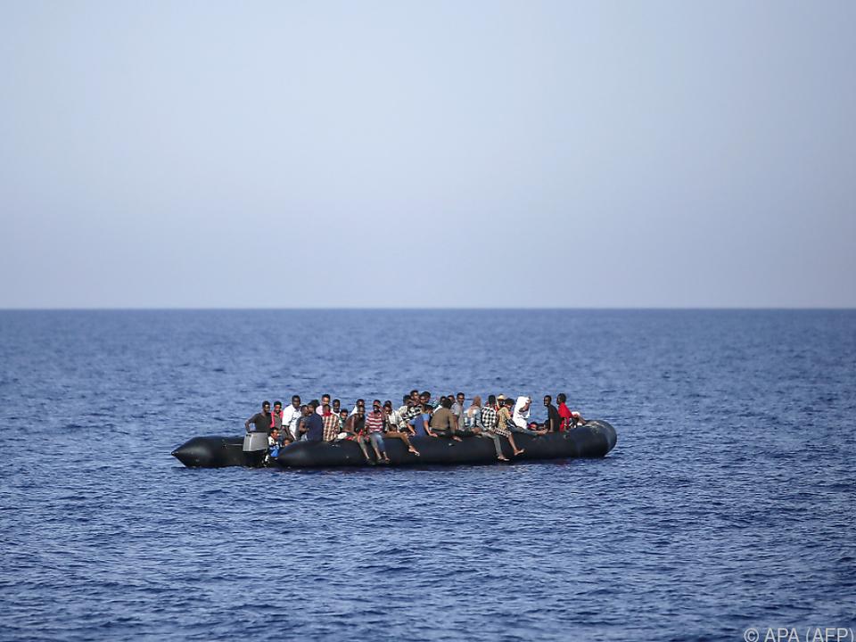 Bei den gefährlichen Überfahrten sterben immer wieder Menschen