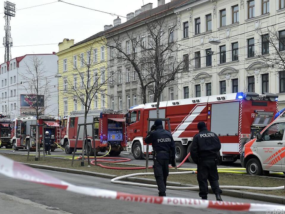 Bei der Explosion in Hernals kam der Hausverwalter ums Leben