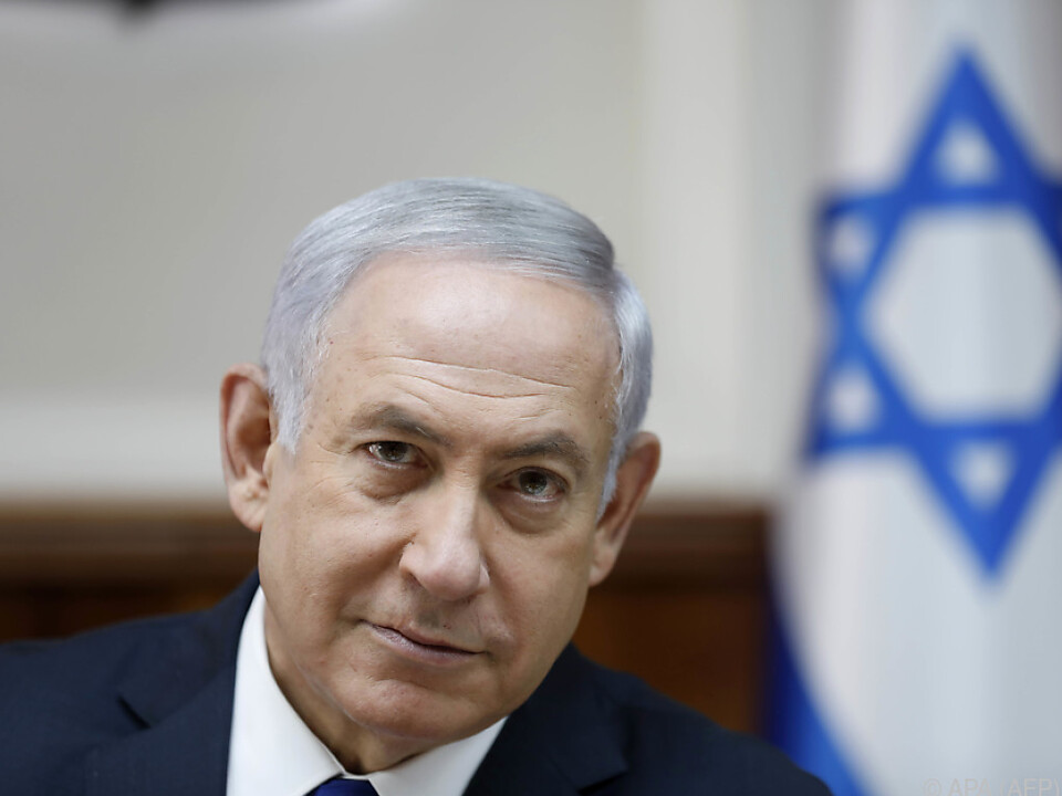 Benjamin Netanyahu warnt militante Palästinenser