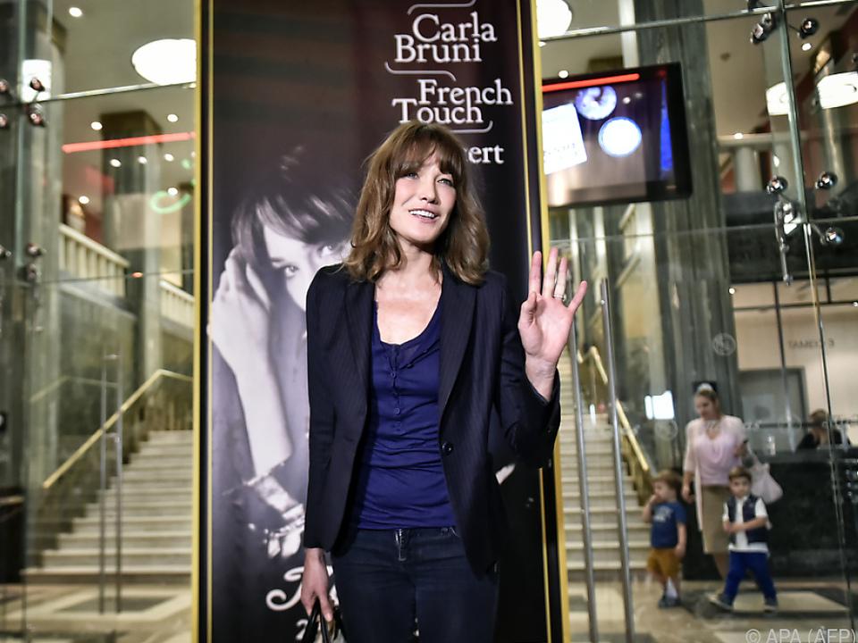 Carla Bruni selbst ist nie belästigt worden