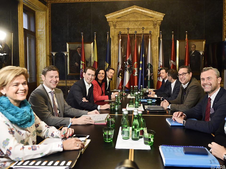 Chefverhandler von ÖVP und FPÖ treffen sich nun täglich