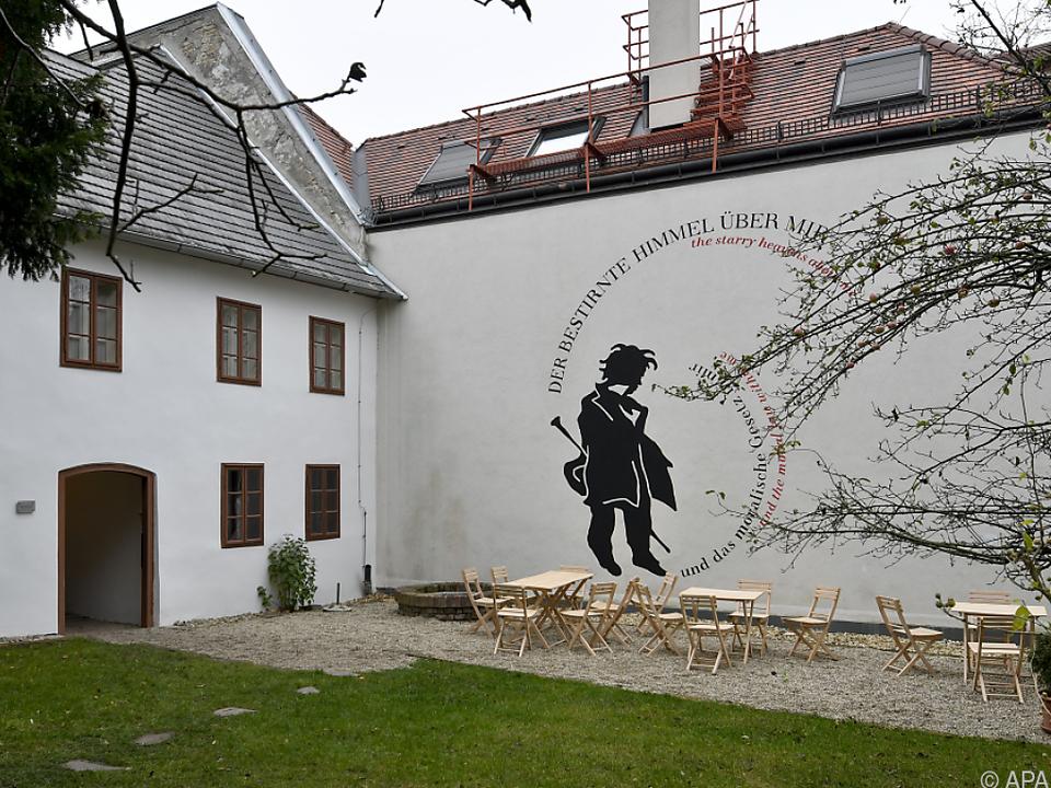 Das Beethoven-Haus steht in Wien-Döbling