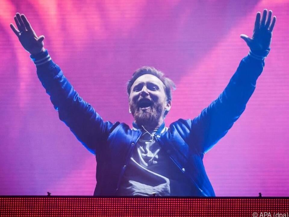 David Guetta bringt die Welt zum Tanzen