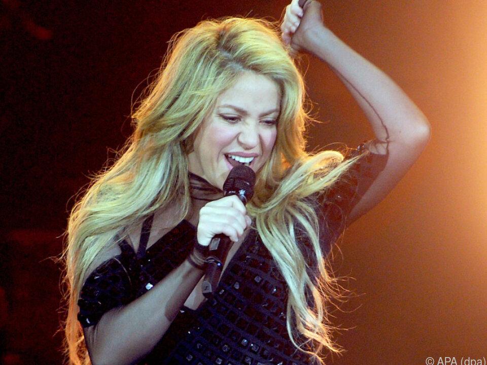 Den Start ihrer Welttournee musste Shakira absagen