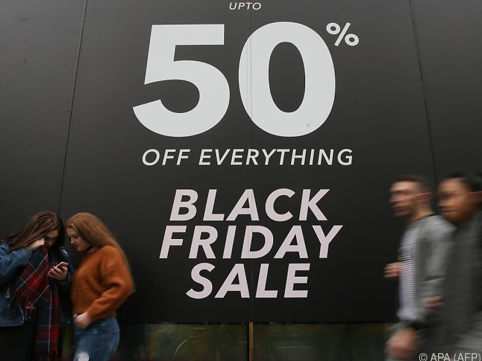 Der Black Friday läutet die vorweihnachtliche Konsumschlacht ein
