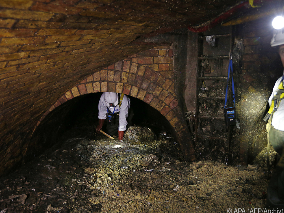 Der Fettberg bestand aus Kochfett und sanitären Abfällen