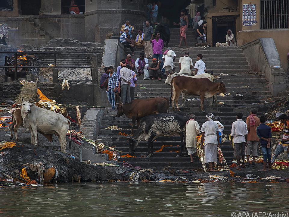 Der Ganges gilt als heiliger Fluss