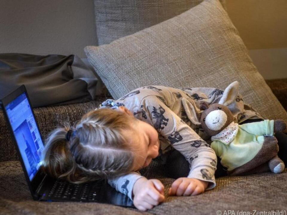 Der Timer sorgt dafür, dass auch der PC einschläft kind