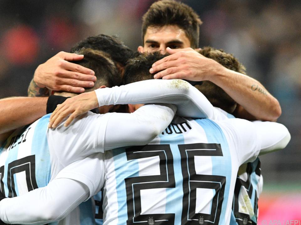 Die Argentinier haben Grund zur Freude