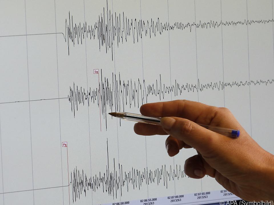 Die Erdbeben wurden von der Bevölkerung klar gespürt