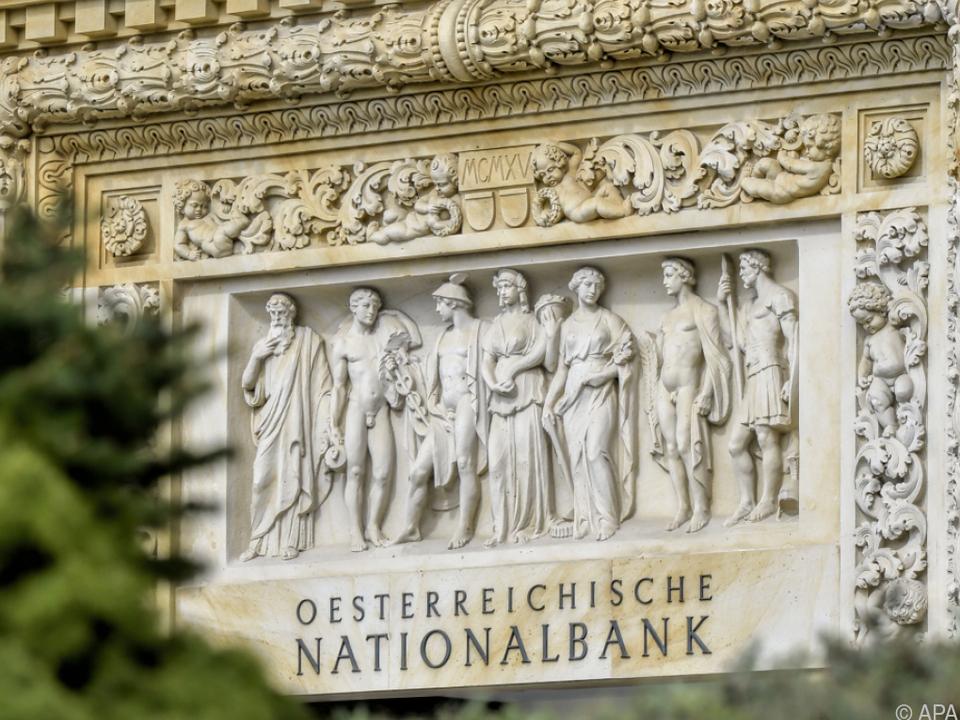 Die Nationalbank veröffentlichte aktuelle Zahlen