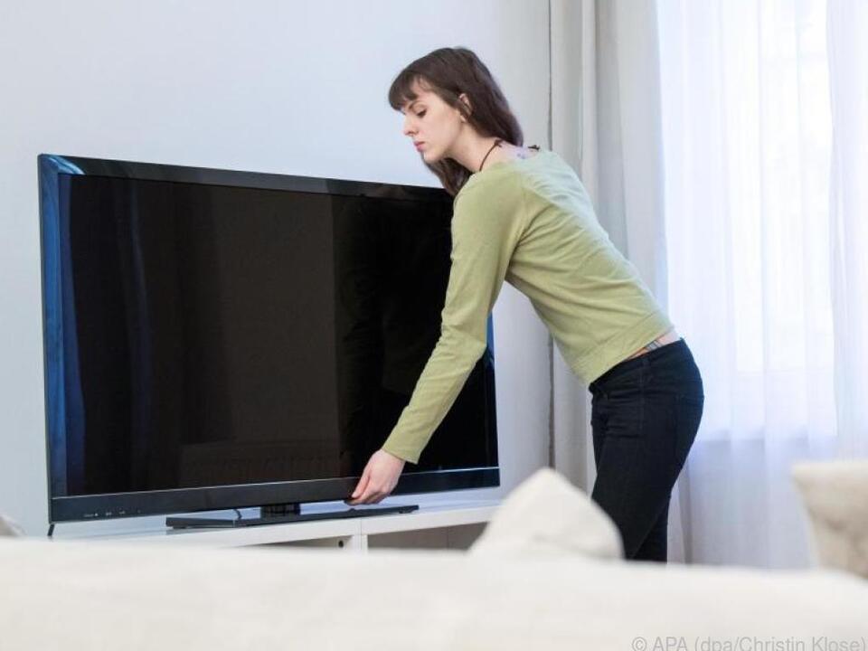 Die neueste Technik bekommt man bei Gebrauchtfernsehern eher selten