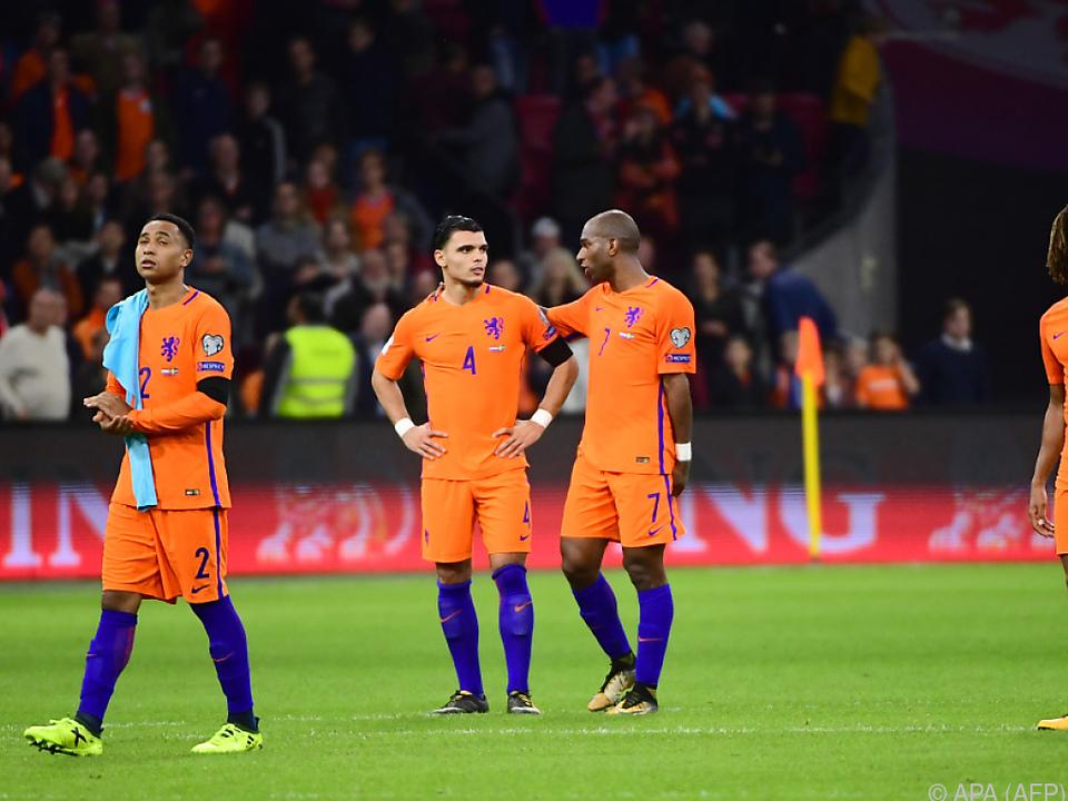 Die Niederländer gewöhnen sich langsam daran