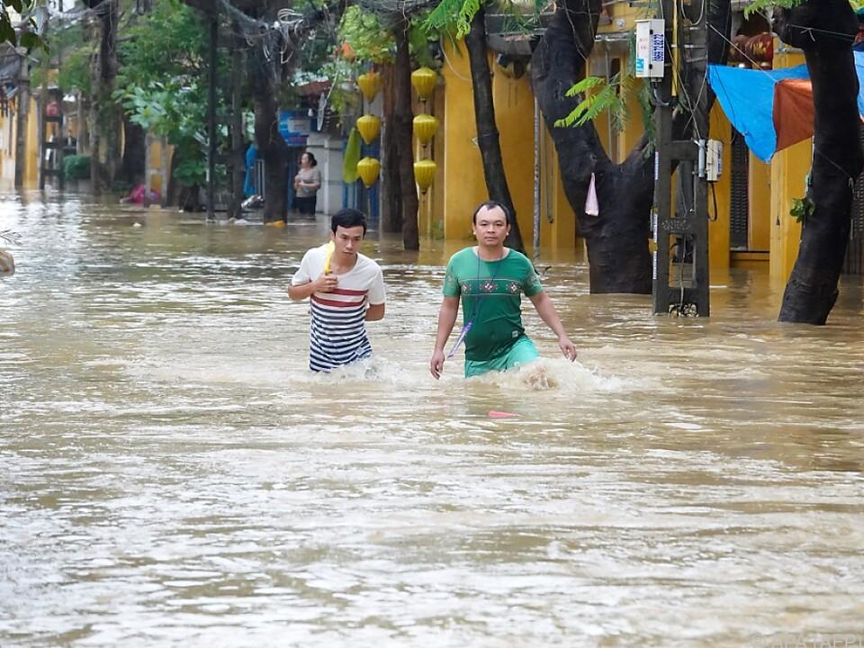 Die Sorge vor Dammbrüchen ist groß