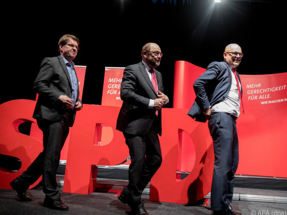 Die SPD will sich nicht \
