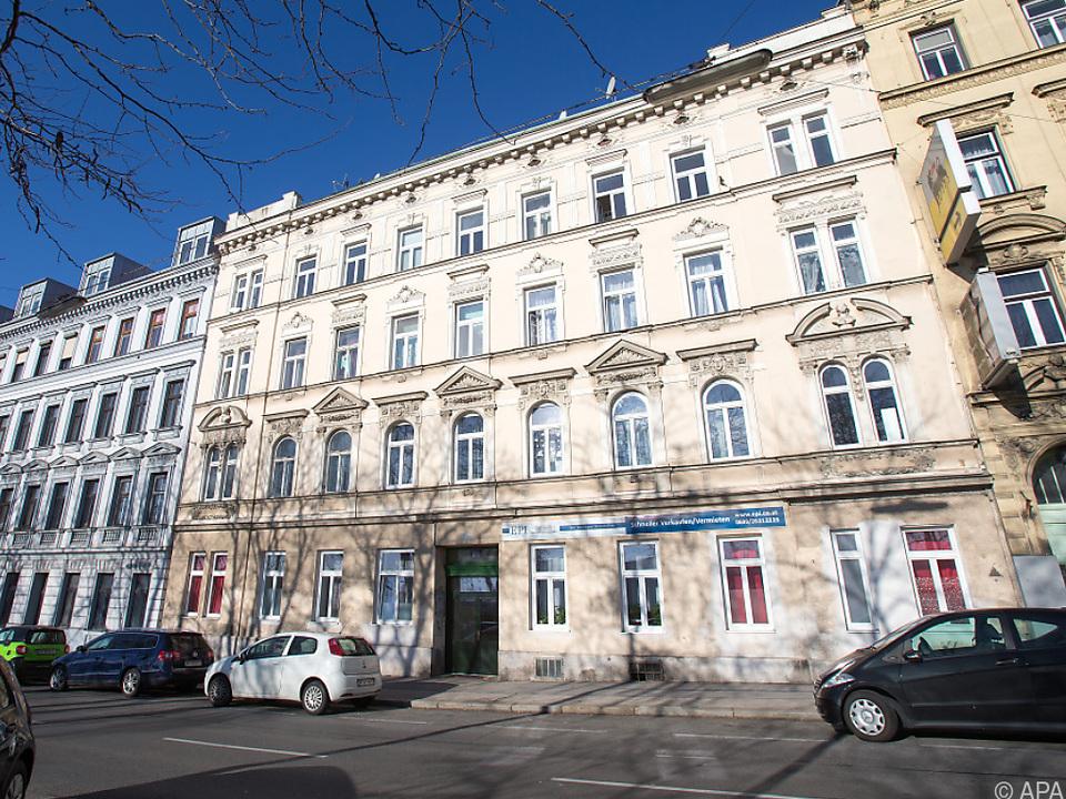 Die Tat geschah in diesem Haus in Rudolfsheim-Fünfhaus