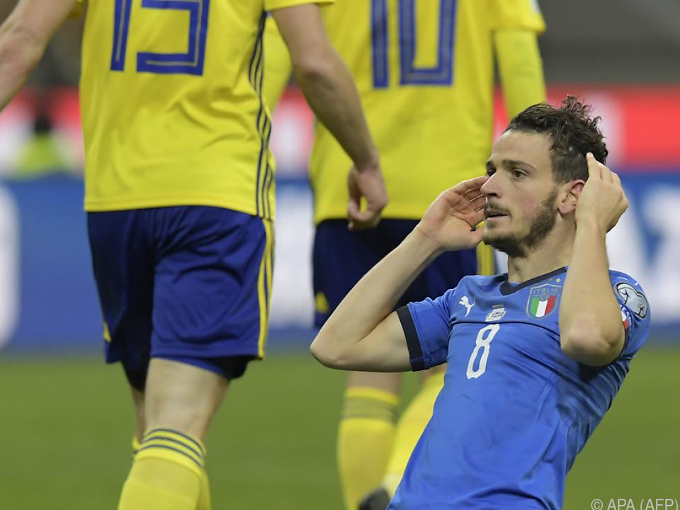 Drama beim Spiel Italien gegen Schweden