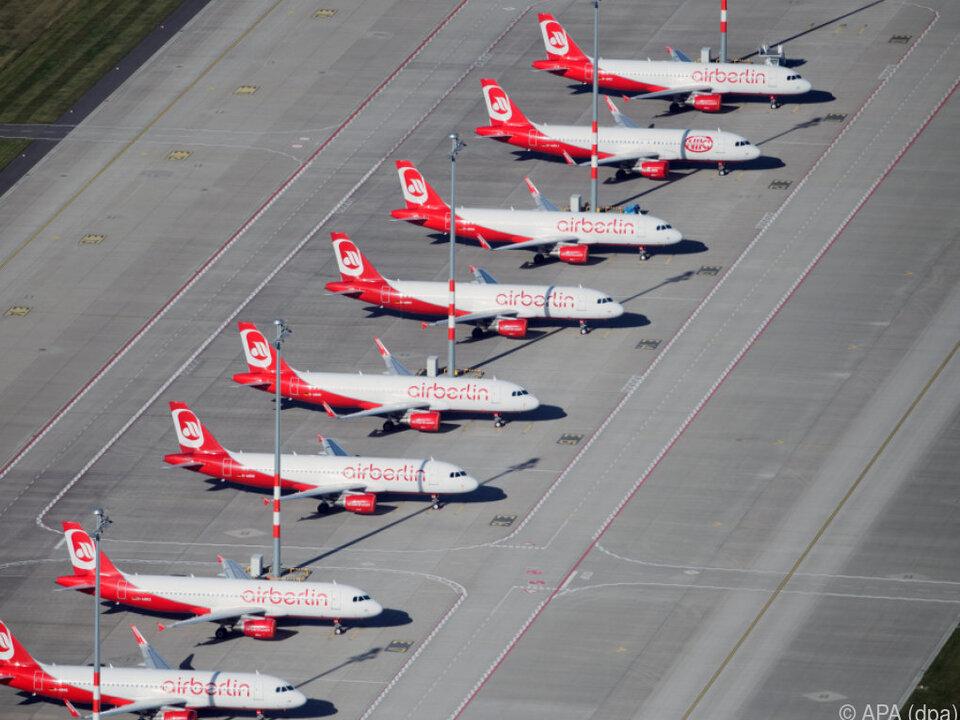 Air Berlin darf Flieger abholen