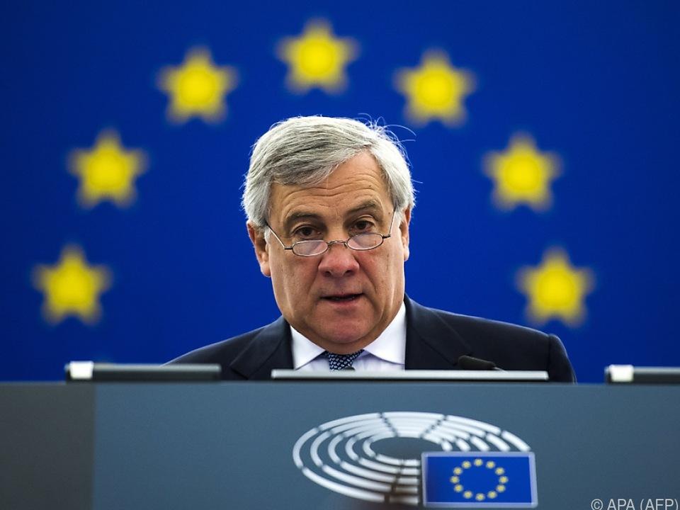EU-Parlamentspräsident Tajani: EU braucht mehr Geld