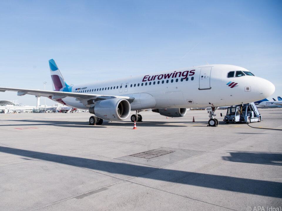 Eurowings ist die Billig-Flugschiene der Lufthansa