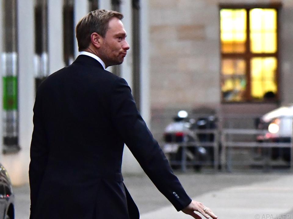 FDP-Chef Christian Lindner will den Grünen nicht weiter entgegenkommen