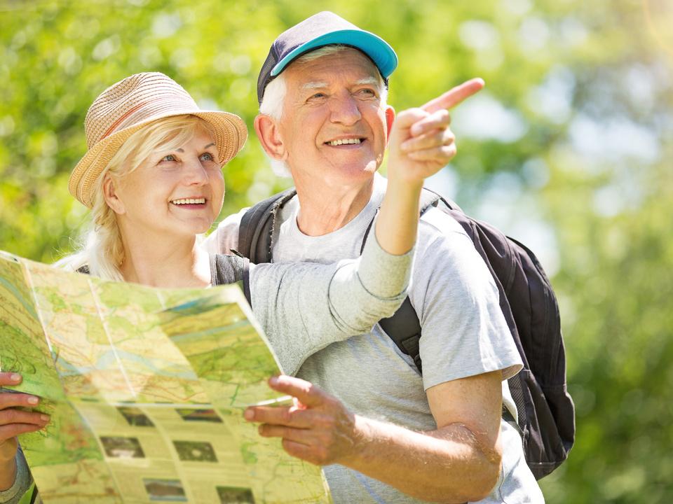 Senioren Wandern Orientierung