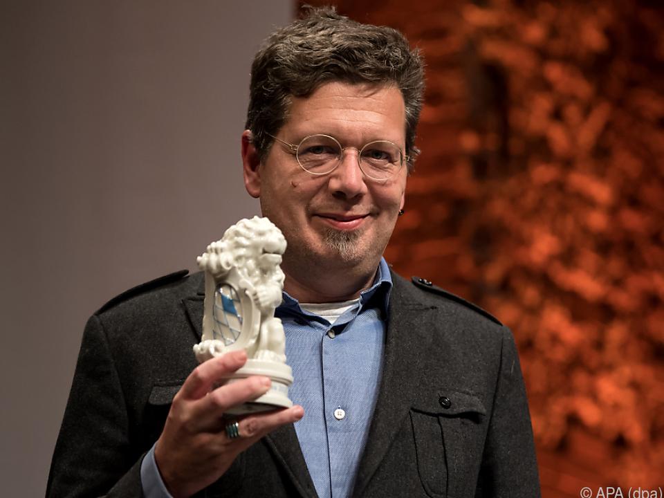 Franzobel mit der Auszeichnung