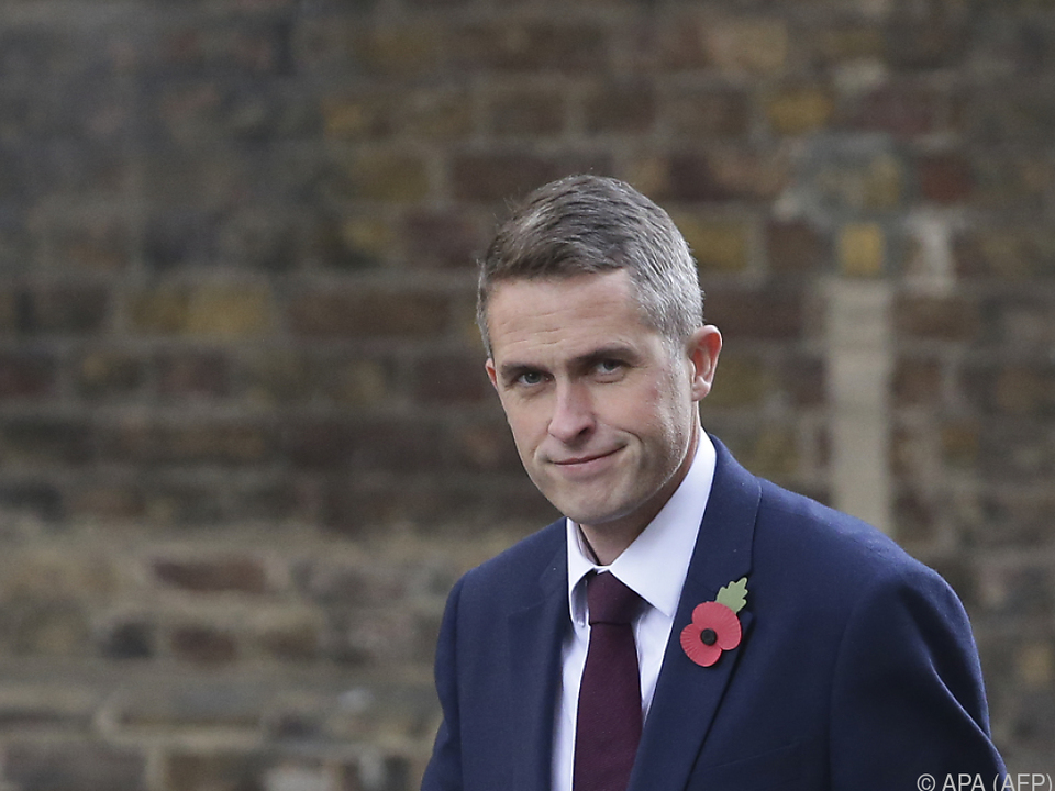 Gavin Williamson folgt Michael Fallon