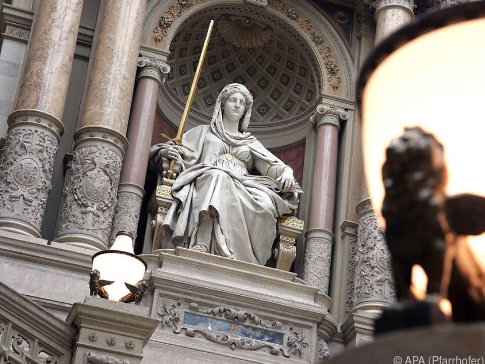 Gerichtsverhandlung in Wien