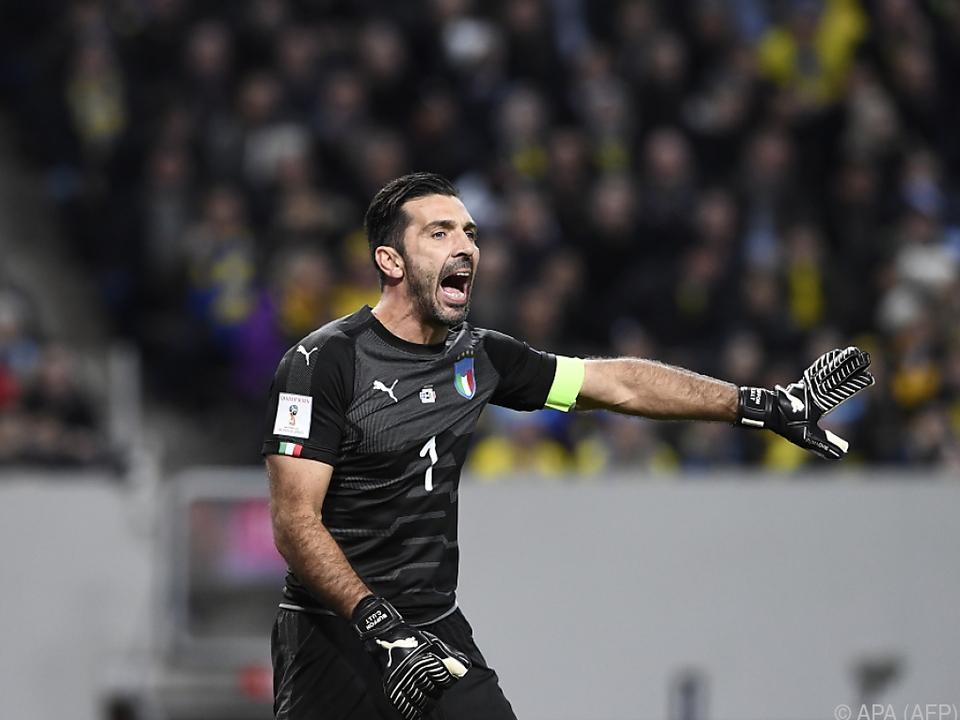 Gianluigi Buffon bangt um seine letzte WM-Teilnahme