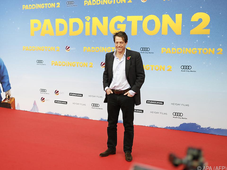 Grant bei der Filmpremiere in Berlin