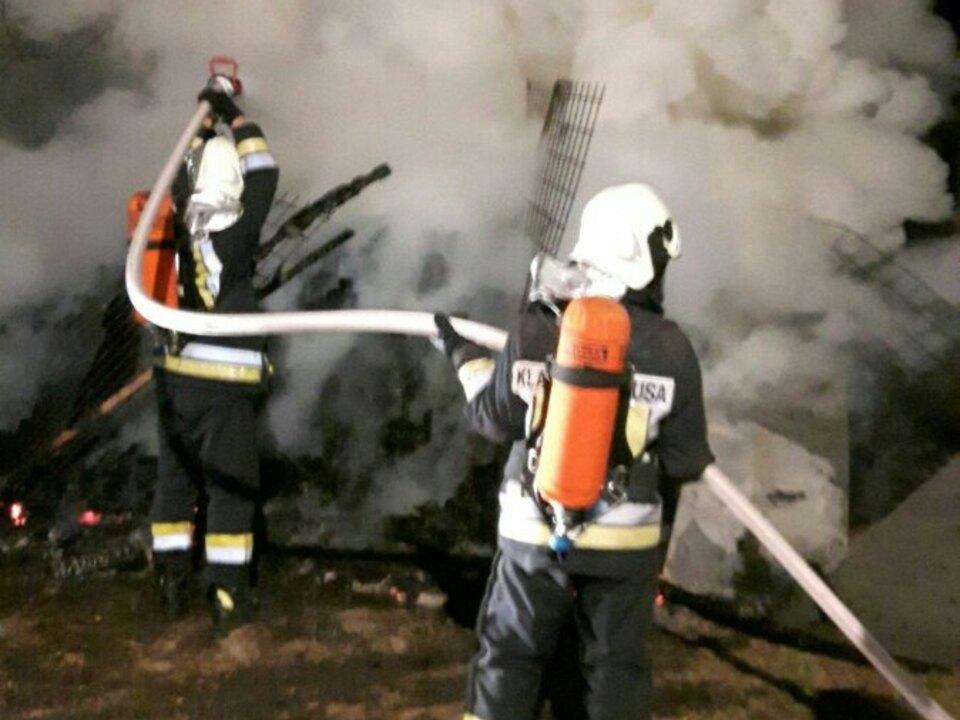 Holzlagerbrand