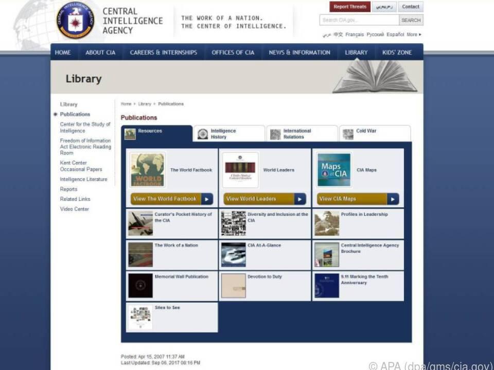 In der Online-Bibliothek der CIA gibt es viele spannende Dokumente zu lesen