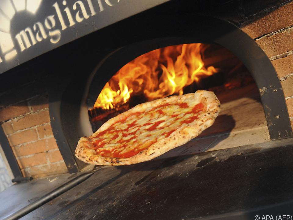 In Italien werden 7 Millionen Pizzen pro Tag verspeist