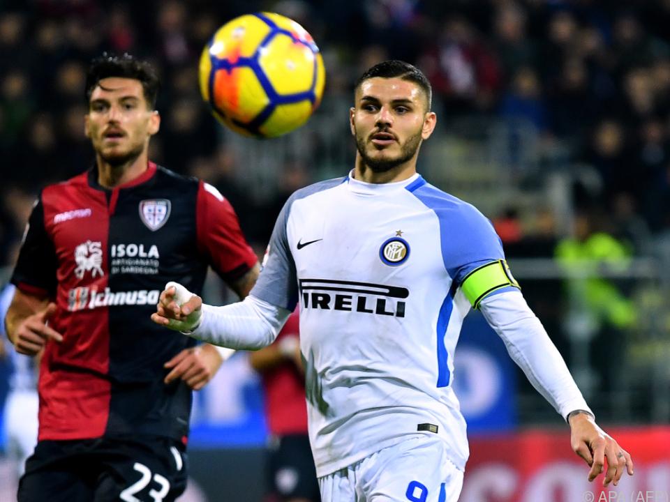 Inter Mailand schnuppert an der Spitze