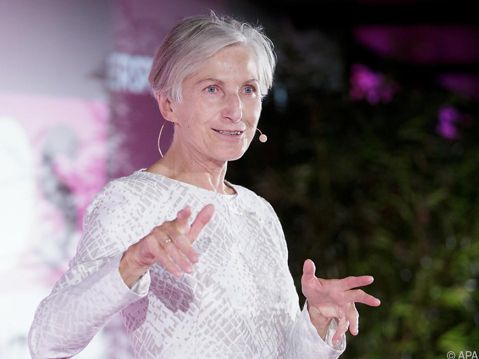 Irmgard Griss ist die älteste Mandatarin