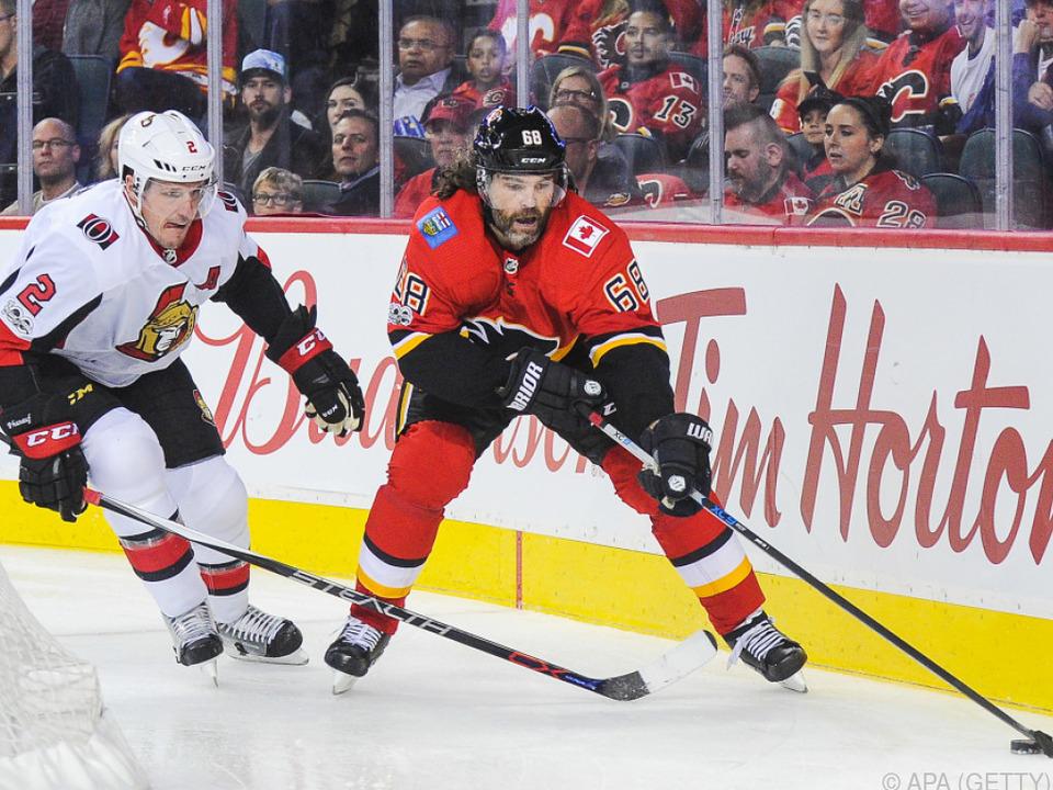 Jagr durfte sich über 766. NHL-Tor freuen