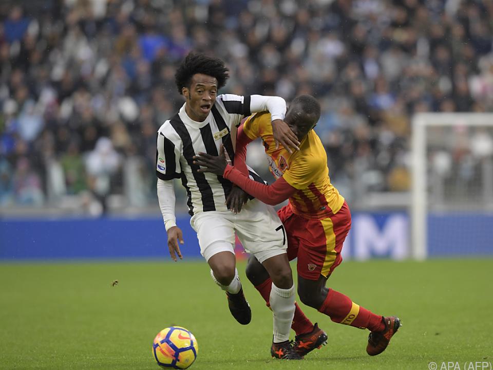 Juventus mühte sich gegen Benevento zu einem 2:1-Heimsieg