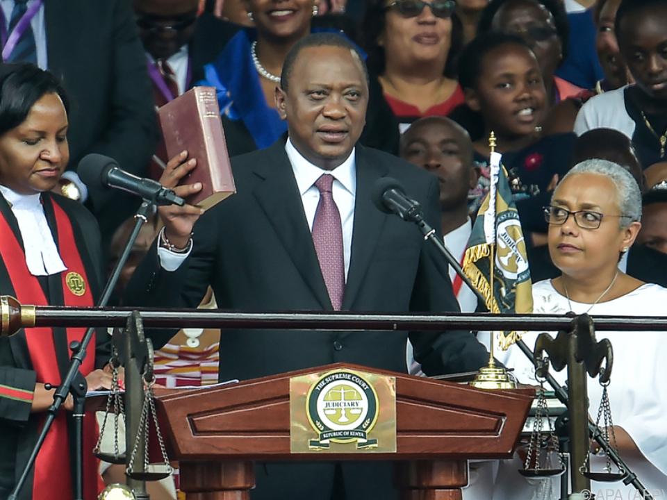 Oppositionsführer Odinga kündigt eigene Amtseinführung an