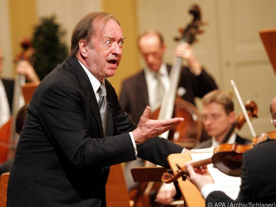 Konzert für den verstorbenen Dirigenten Harnoncourt
