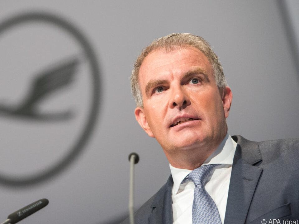 Lufthansa-Chef Carsten Spohr hat große Pläne
