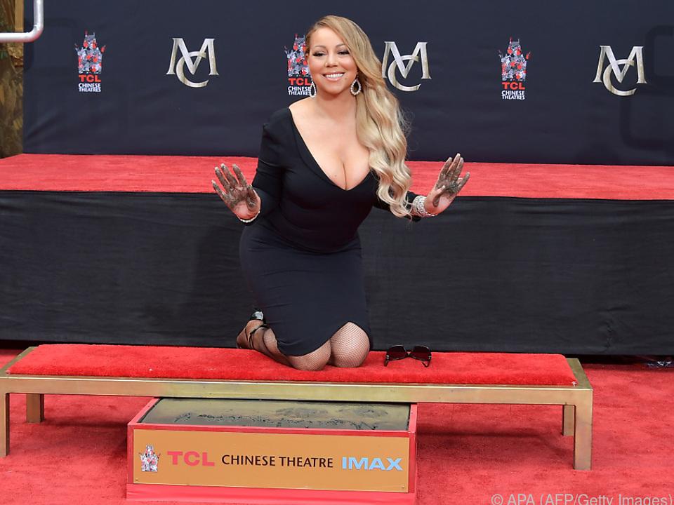 Mariah Carey machte sich ihre Hände schmutzig