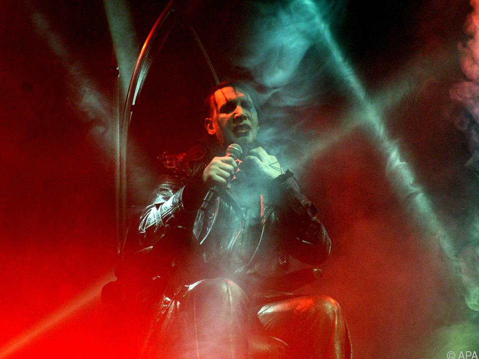 Marilyn Manson lieferte eine souveräne Show ab